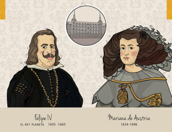 Felipe IV - Mariana de Austria