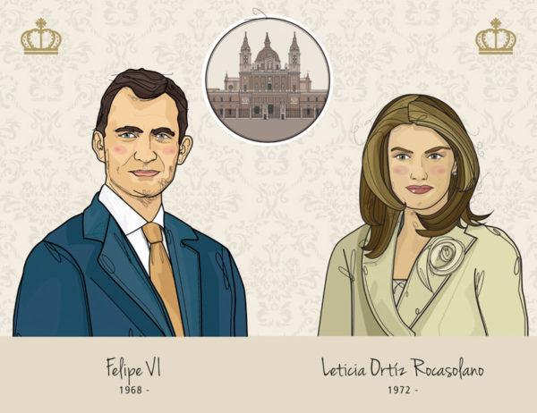 Felipe VI - Leticia Ortiz Rocasolano