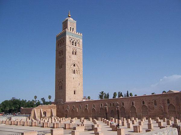 Mezquita Koutoubia en Marrakech